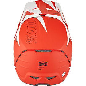 100% Aircraft DH Composite Helm rapidbomb/red